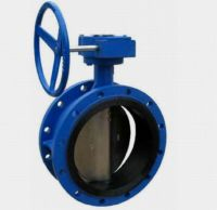 Sell Double Flanged Butterfly Valves