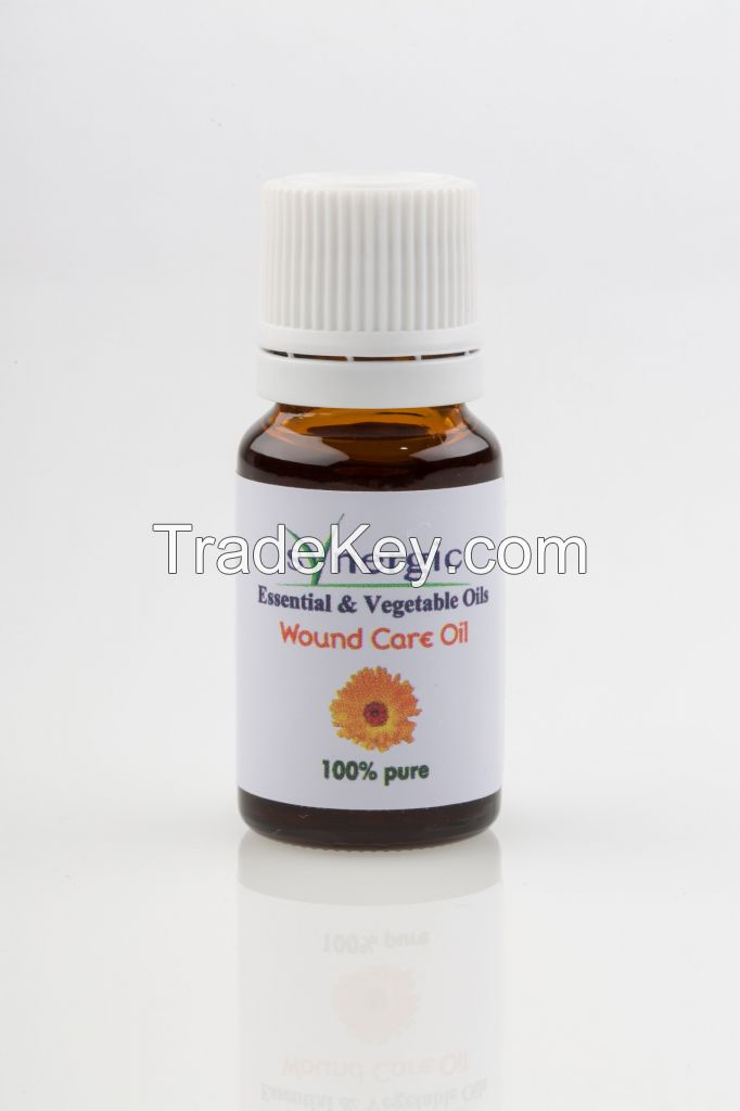 Synergic Wound Care Oil - Aromatherapy Essentiel Oil (Ref# CIC 1003)