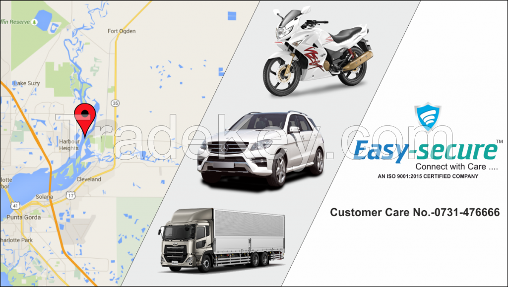 Easy Secure vehicle gps tracking system