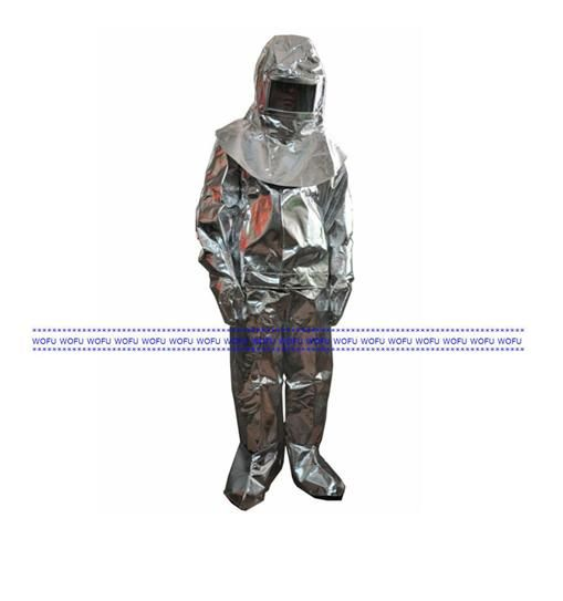 Aluminized Fire Fighting Suit