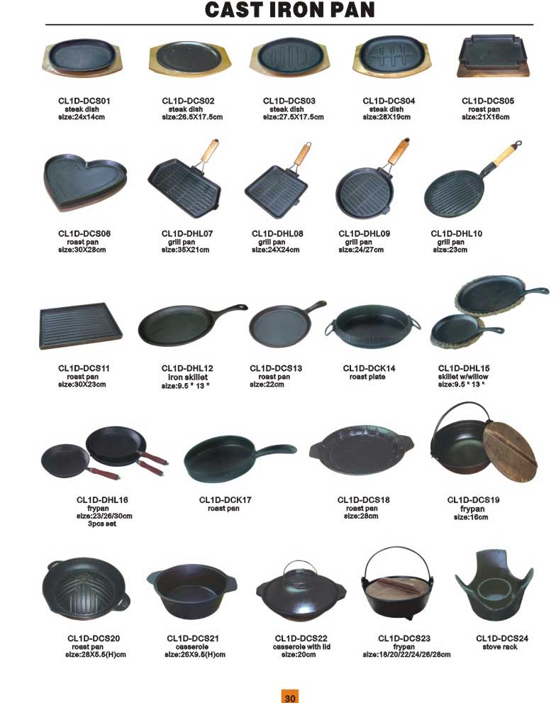 Cast Iron Cookware By Qianxiang Trading Co Ltd China