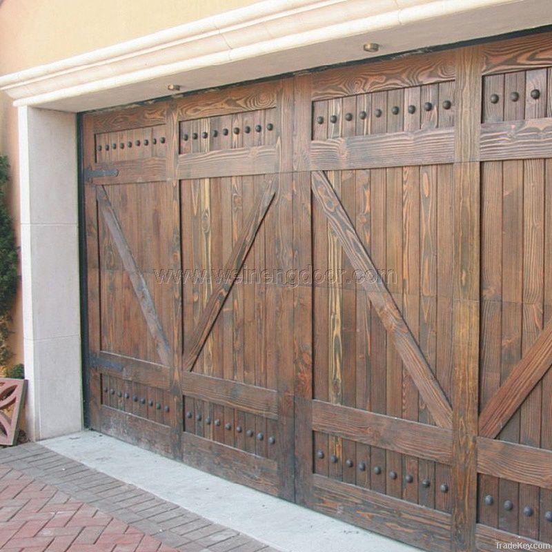 wood garage doorwood garage door