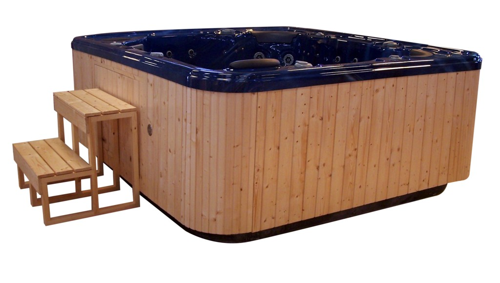 Outdoor Hot Tub Spa With CE By Foshan Lujia Sanitary Co, Ltd, China