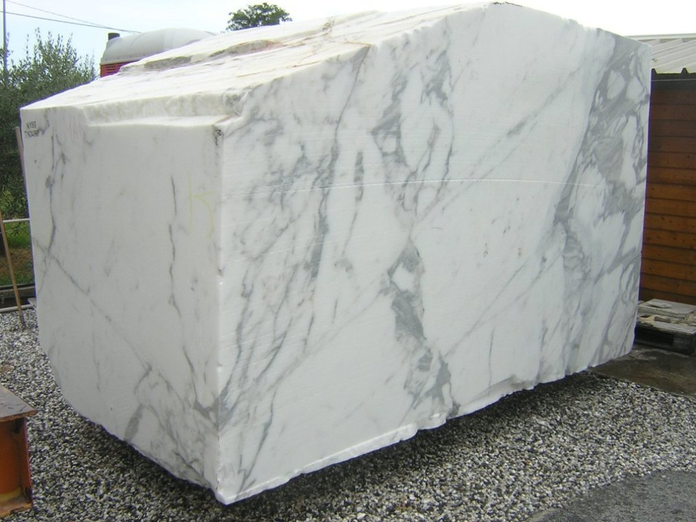 Carrara white marble calacatta c d c arabescato for What is more expensive marble or granite