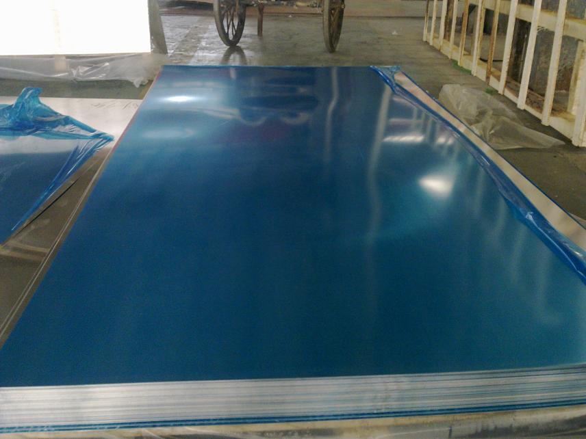 blue pvc coated aluminum sheet plate 3003