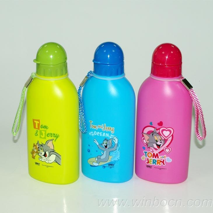 Cartoon Plastic Water Bottle Cartoon Kids Water Bottle