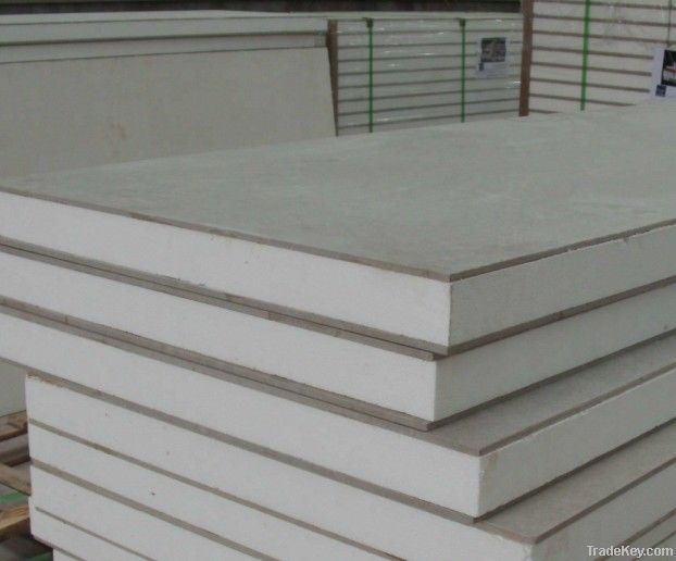 Cement Board Wall : Wall panel glass board