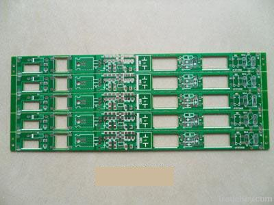double-sided blue solder mask hal (lead free) pcb