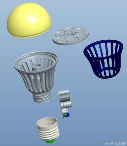 9W MCOB LED Bulb E27 R60 By Sywell Lighting Industrial Co ...