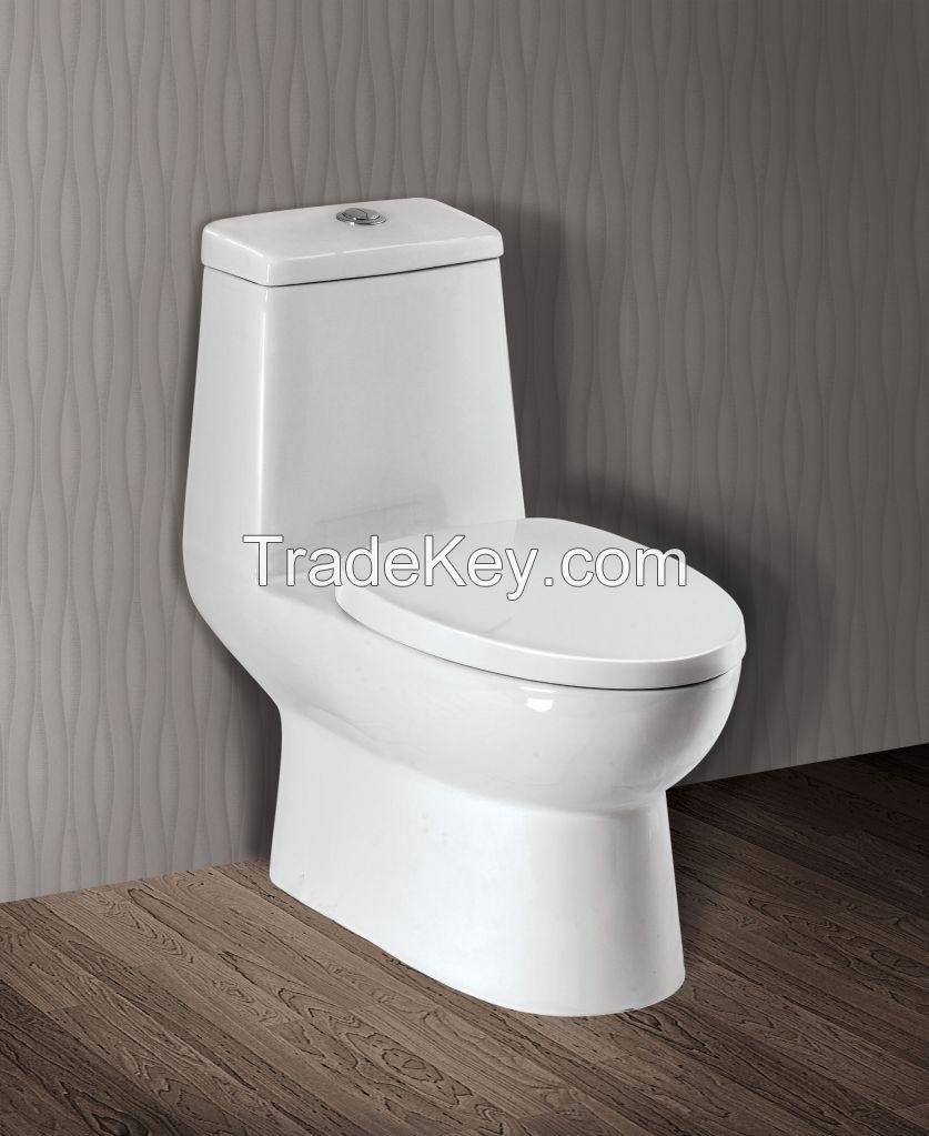 Ceramic Water Closet (1 piece/Dual flush/Nano finished/S trap)