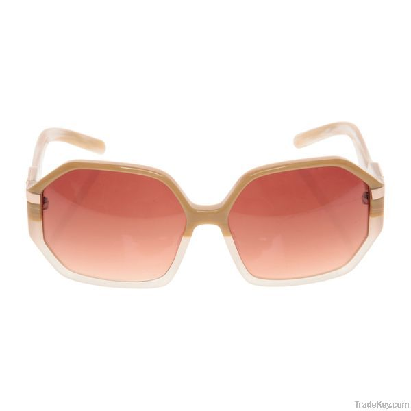 clear wayfarer sunglasses  clear brown   hexagon