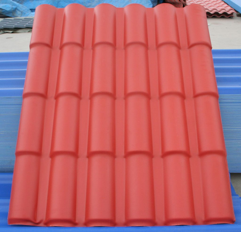 pvc roof tile for house by pingyun