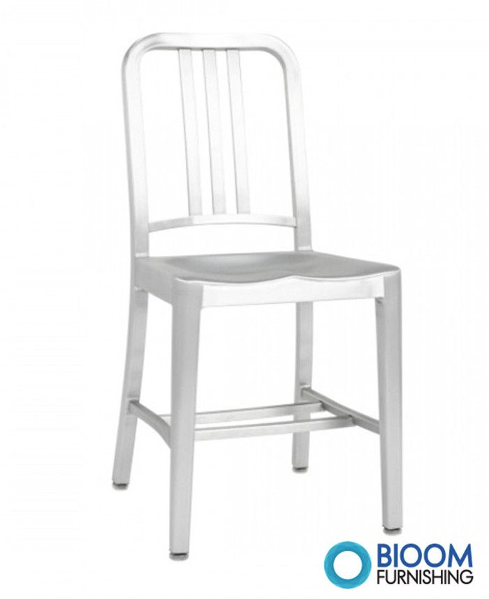 emeco anodized aluminium navy chair by bloom furnishing