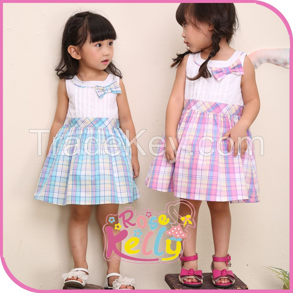 Sweet Baby Clothes Baby Frock Design Cotton Dress In