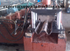 China highway guard roll former fabricator with gearbox driving