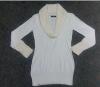 Garment stocklots of ladies pullover sweater