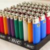 color plastic flint disposable lighter/ grinding wheel gas flame lighter / OEM customer logo printing kitchen gas lighter / Cigarette Lighter