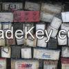 Drained lead acid Used car battery scraps