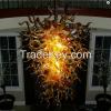 Hand blown murano glass art chandelier