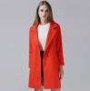 Hot on sale fashion medium style thicken woollen women coat for winter