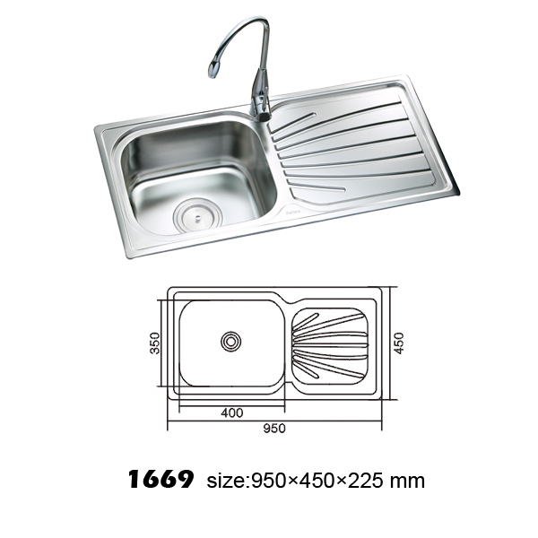 professional kitchen sink sell kitchen sink 1669 by ningbo henghua metal product co 1669