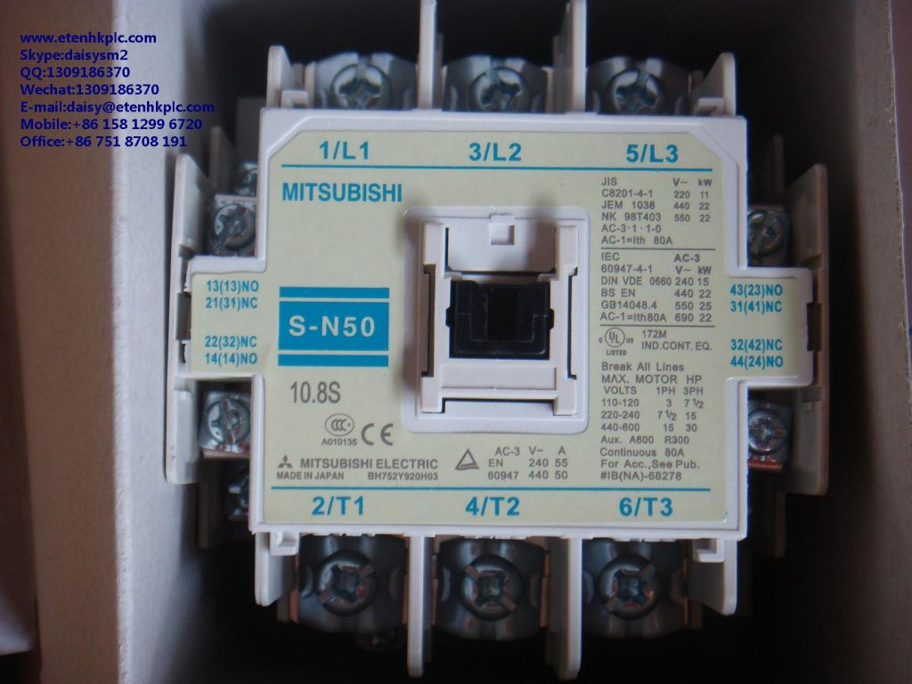 Limit Switch Contactor Circuit Breaker Relay Plc Touch Screen Igbt Inverter Converter Power Supply Controller S N50 Sn50
