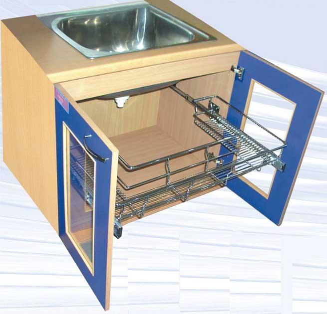 Kitchen Cabinets Basket Drawer: Drawer Basket SC60