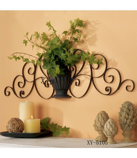Home Decor Metal Wall Decor Iron Plant Holder Iron Wall Holder By Anxi Xinying Handicrafts Co