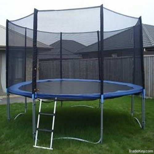 12ft Big Trampoline With Enclosure/safety Net By Shaoxing