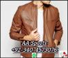 Leather jacket, deer s...