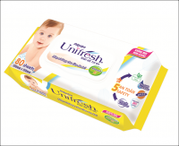 BABY WET WIPES NON CHEMICAL MADE IN VIETNAM 80 SHEETS