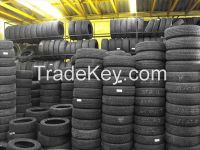 Used tires for African mark...